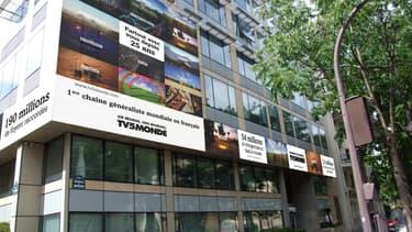 TV5 est en procès avec le propriétaire de son siège avenue de Wagram à Paris