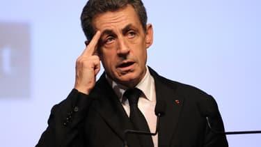 Nicolas Sarkozy, le 10 décembre 2015.
