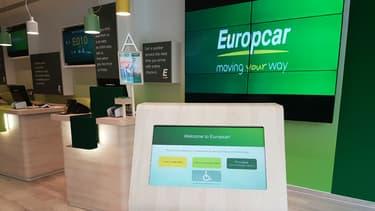 L'agence nouvelle génération inaugurée par Europcar à Bruxelles.