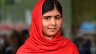 Malala Yousafzai, le 3 septembre 2013 à Birmingham, dans le centre de l'Angleterre