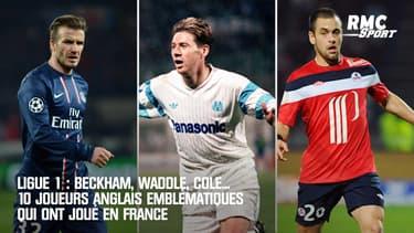 Ligue 1 : Beckham, Waddle, Cole... 10 joueurs anglais emblématiques qui ont joué en France