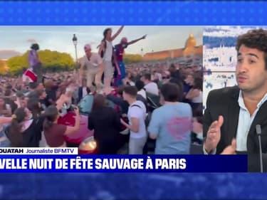 Nouvelle nuit de fête sauvage à Paris - 13/06