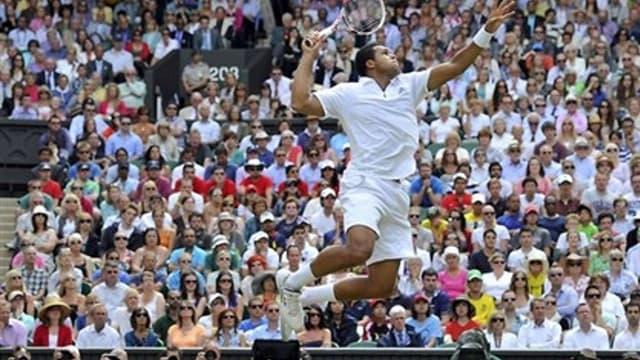 Jo-Wilfried Tsonga à l'assaut de Djokovic