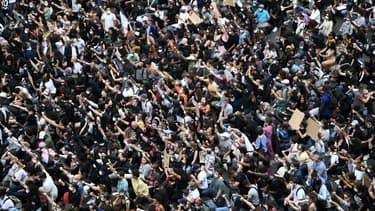 Manifestation à Paris le 13 juin.