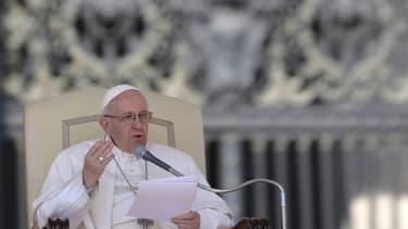 Le pape François, le 5 avril 2017 au Vatican