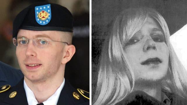 L'armée américaine autorise Chelsea Manning, née Bradley, à suivre un traitement hormonal pour devenir une femme.