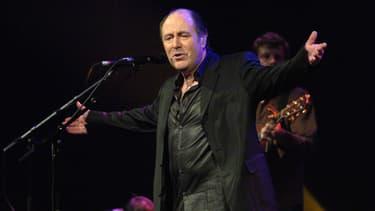 Michel Delpech, en février 2005.