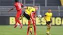 Erling Haaland actif mais ne marque pas pour sa première face au Bayern Munich