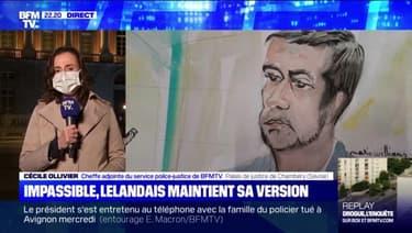 Impassible, Lelandais maintient sa version - 07/05