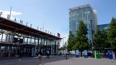 Le bâtiment du siège de la SNCF à Saint-Denis, en Seine-Saint-Denis, a été occupé quelques heures par des grévistes, ce mardi.