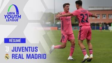 Résumé : Juventus 1-3 Real Madrid (Q) - Huitièmes de finale Youth League