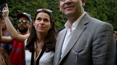 Les deux anciens ministres lors de la Fête de la musique l'été dernier.