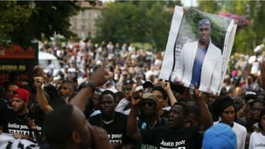 Un rassemblement en hommage à Adama Traoré.