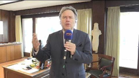 """""""Il n'y a pas seulement une politique économique possible"""", rappelle Georges Katrougalos"""