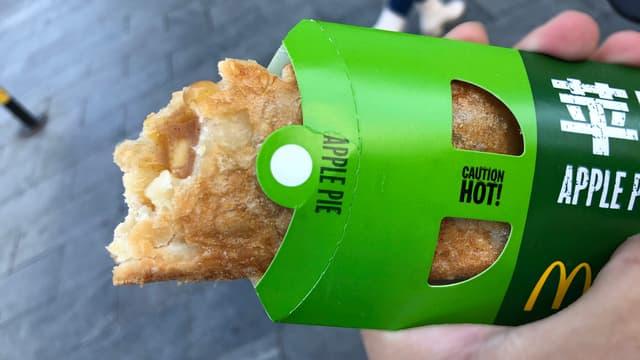 Le chausson aux pommes de retour chez McDonald's pour trois jours.