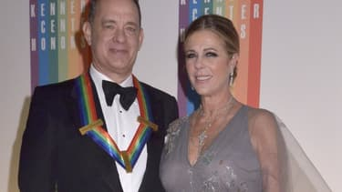 Tom Hanks et Rita Wilson à Washington en décembre 2014