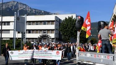 """Le site de Grenoble a été débloqué jeudi soir mais de nouvelles """"actions"""" sont en préparation."""