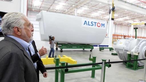 Alstom a inauguré son usine au Brésil en novembre 2011.