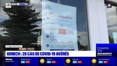 Nord: 26 cas de Covid-19 à Genech, l'ARS veut tester toute la commune