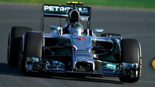 La Mercedes de Nico Rosberg sera équipée de moteurs V6 turbo hybrides