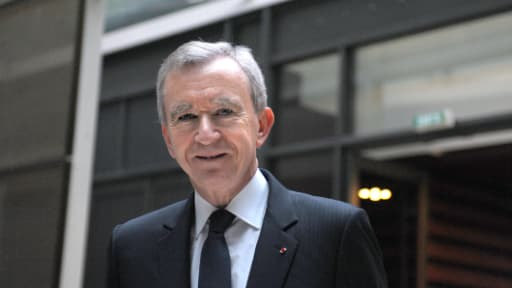 Bernard Arnault donne une interview au Monde jeudi 11 avril