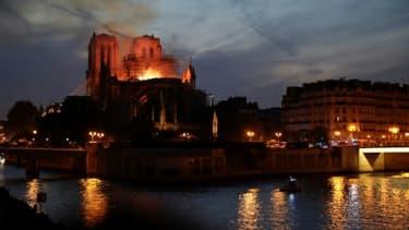 Notre-Dame en flammes, à Paris le 15 avril 2019