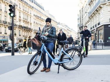 Le vélo Véligo de la région Ile-de-France