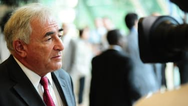 Dominique Strauss-Kahn répond aux questions des sénateurs, mercredi 26 juin.