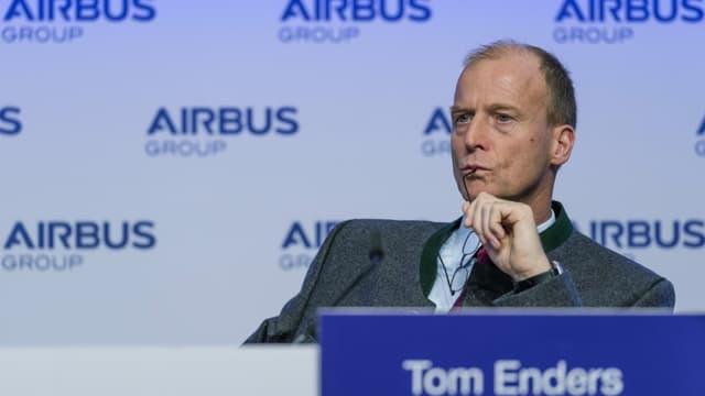 Tom Enders, le patron d'Airbus, répond à Vienne