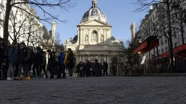 La Sorbonne à Paris.