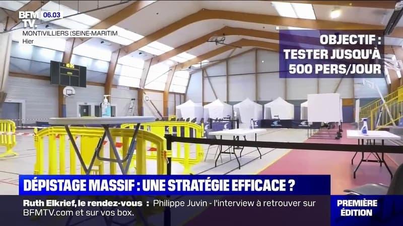Covid-19: Le Havre et Charleville-Mézières lancent leur campagne de dépistage massif ce lundi