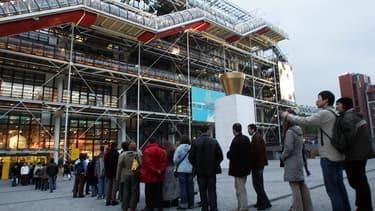 Le centre Georges-Pompidou fête ses 40 ans en 2017.