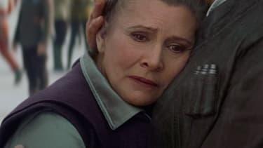 Carrie Fisher dans Star Wars, épisode VII: Le Réveil de la Force