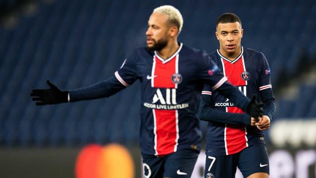 Neymar, K. Mbappé