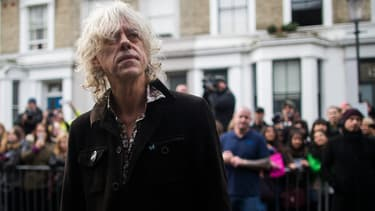 L'artiste irlandais Bob Geldof à Londres le 15 novembre 2014.