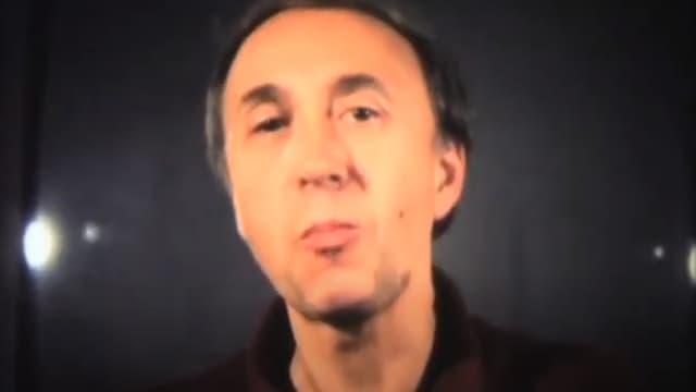 Jean-Claude Romer dans Cinématon #1454 de Gérard Courant