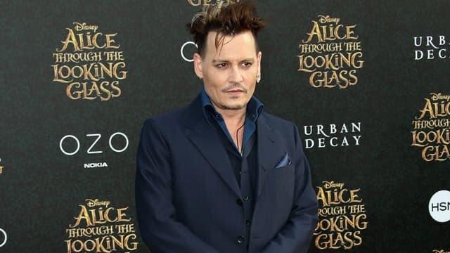 Johnny Depp le 23 mai 2016