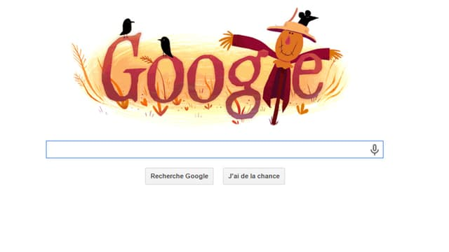 Google fête Halloween avec ses doodles animés.