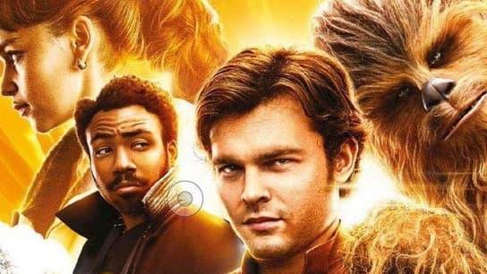 """L'affiche de """"Han Solo: A Star Wars Story""""."""