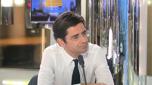 Nicolas Dufourcq, le directeur général de la Banque publique d'investissement, était l'invité de BFM Business, lundi 24 juin.