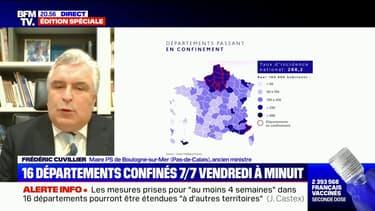 """Frédéric Cuvillier: """"Le sort réservé aux commerces est difficilement compréhensible"""""""