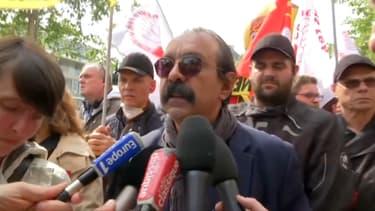Philippe Martinez dans le cortège de la manifestation du 1er mai 2019 à Paris