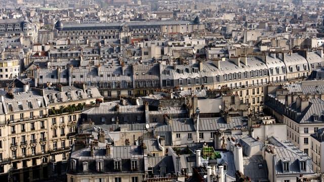 Les prix de l'immobilier de luxe ont chuté à Paris.
