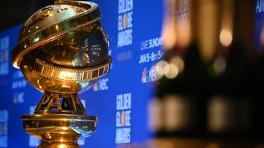 Un trophée des Golden Globes