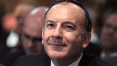 Pierre Gattaz a tenu sa première conférence de presse mensuelle depuis son élection à la tête du Medef, en juillet dernier.