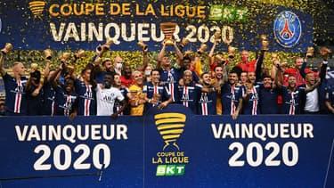 Le PSG remporte la dernière Coupe de la Ligue