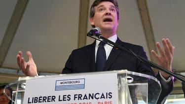 "Arnaud Montebourg regrette le ""mariage"" entre Alstom et Siemens."