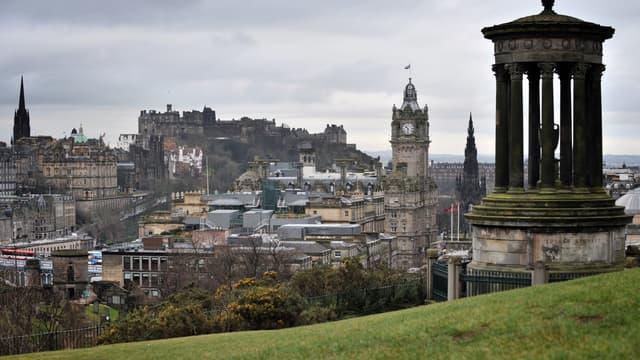 Le château d'Edinburgh, le 8 février 2010 en Ecosse. (Photo d'illustration)