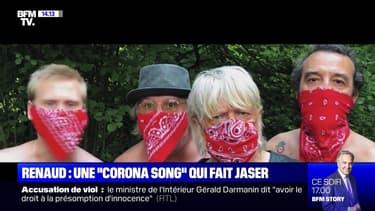 """Renaud: une """"Corona Song"""" qui fait jaser - 09/07"""