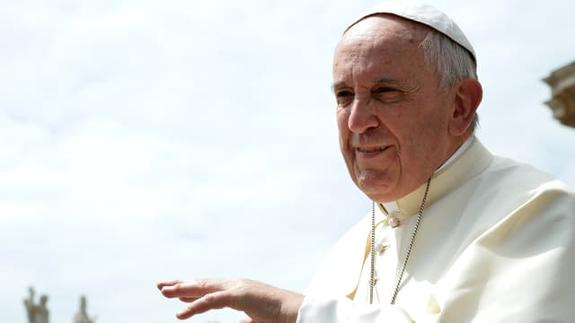 Le pape François, le 27 mai 2015.